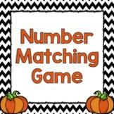 Pumpkin Number Matching Game
