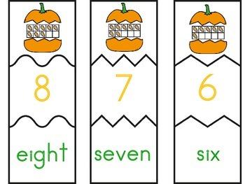 Pumpkin Number Puzzles