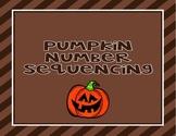 Pumpkin Number Sequencing #1-10 & #11-20