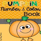 Pumpkin Number and Color Book