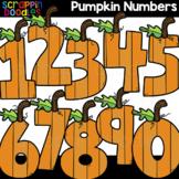 Pumpkin Numbers 0 - 10 Clipart {Scrappin Doodles Clip Art}