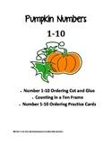 Pumpkin Numbers 1-10