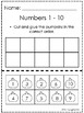 Pumpkin Numbers 1 - 10