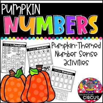 Pumpkin Numbers Freebie!