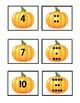 Pumpkin Numbers Matching Game