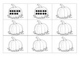 Pumpkin Numeral Match