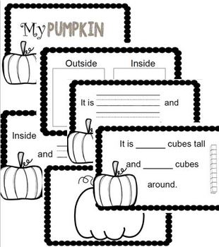 Pumpkin Observation Book
