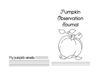 Pumpkin Observation Journal