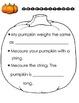 Pumpkin Observations Book, Inquiry Activity and Pumpkin Li