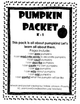 Pumpkin Pack, Autumn Pack