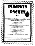 Pumpkin Pack, Autumn Pack