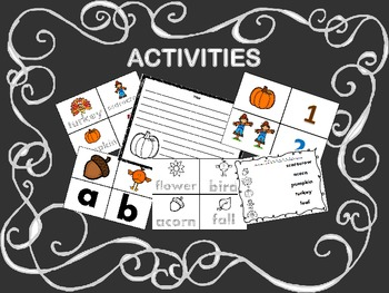 Pumpkin Pack and Other Fall Activities