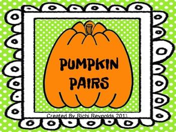 Pumpkin Pairs Contractions