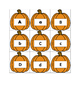 Pumpkin Pairs Uppercase and Lowercase Letters