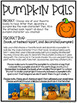 Pumpkin Decorating Project and Book Report