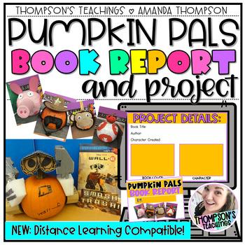 Pumpkin Pal Project- Pumpkin Decorating with Report, Rubri