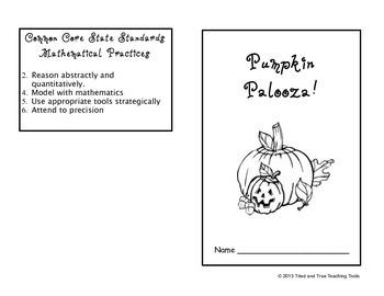 Pumpkin Palooza! Hands-on Math Extravaganza!