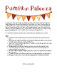 Pumpkin Palooza Deductive Reasoning Grid Logic Level III