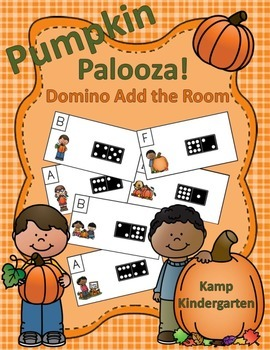 Pumpkin Palooza Domino Add the Room (Sums of 0 to 10)
