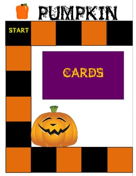 Pumpkin Palooza Game - Nonsense Words - Addition to 10 - Subtraction from 10