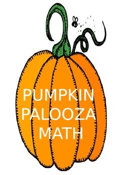Pumpkin Palooza Math