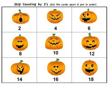Pumpkin Math and Literacy Centers