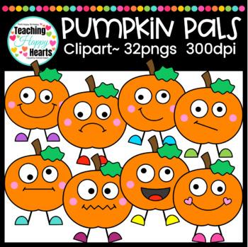 Pumpkin Pals Clipart