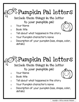 Pumpkin and Fall Letter Writing Paper FREEBIE