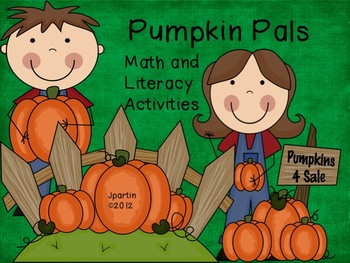Pumpkin Pals (Letter and Number Concentration)