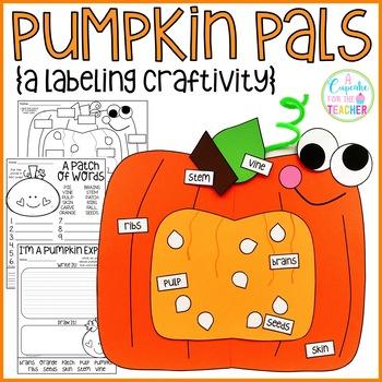 Pumpkin Pals {a Labeling Craftivity}