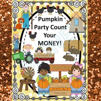 "Pumpkin Party ""Counting Money"" (Money Activities)"