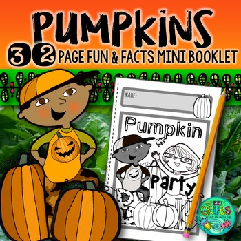 Pumpkin Party!  {Fun and facts booklet about pumpkins & th