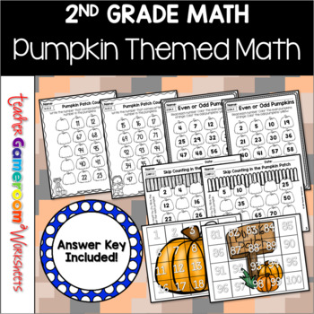 Pumpkin Party Math Packet