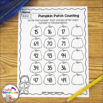Pumpkin Party Math Bundle