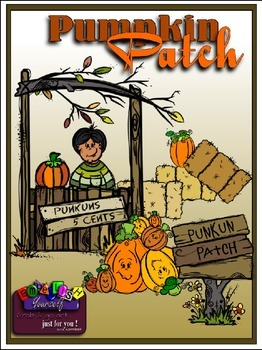 Punkin Patch Clipart (5 FREE Elements Included) Embellish
