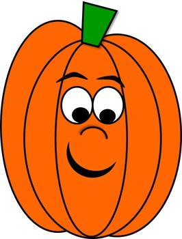 Pumpkin Patch Clip Art Characters