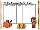Pumpkin Patch 5 Senses Graphic Organizer