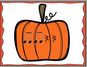 Pumpkin Patch - A Rhythm Practice Activity