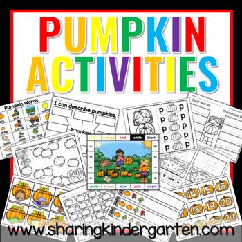 Pumpkin Activites
