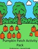 Pumpkin Patch Activity Pack