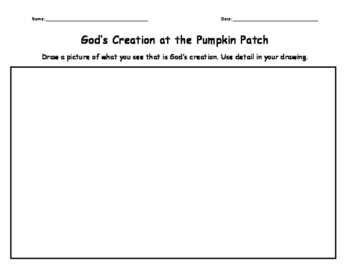 Pumpkin Patch Activity Packet