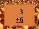 Pumpkin Patch Addition Math Facts to 10 (Power Point Drill)