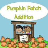 Pumpkin Patch Addition Mats - Decomposing Numbers