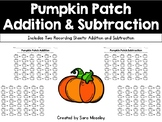 Pumpkin Patch Addition & Subtraction