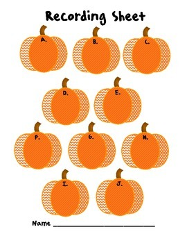 "Pumpkin Patch Addition and Subtraction - An ""Around the Room"" Math Activity"
