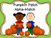 Pumpkin Patch Alpha-Match {Alphabet Recognition Game}
