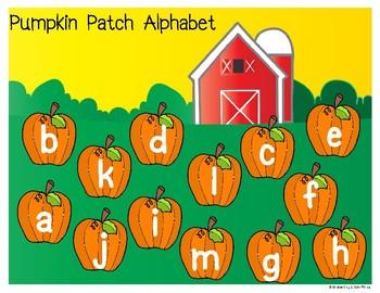 Pumpkin Patch Alphabet