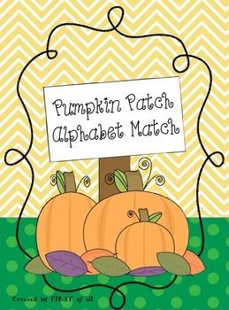 Pumpkin Patch Alphabet Match