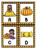Pumpkin Patch:  Alphabet Scavenger Hunt: Upper and Lowercase Letters