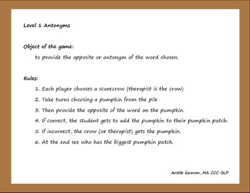 Pumpkin Patch Antonyms